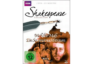SHAKESPEARE COLLECTION 4.BOX DVD