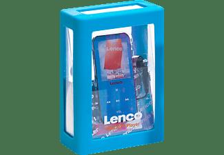 LENCO MP4/MP3 Player Xemio 655 4GB mit Aufnahmefunktion, blau