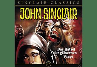 John Sinclair Classics 08 - Das Rätsel der gläsernen Särge  - (CD)