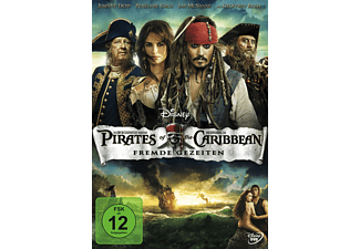 Pirates Of The Caribbean - Fremde Gezeiten DVD