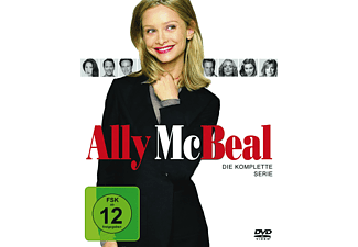 Ally McBeal - Staffel 1-5 (Komplette Serie) DVD
