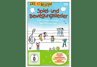 Die 30 besten Spiel-und Bewegungslieder - Die DVD  - (DVD)