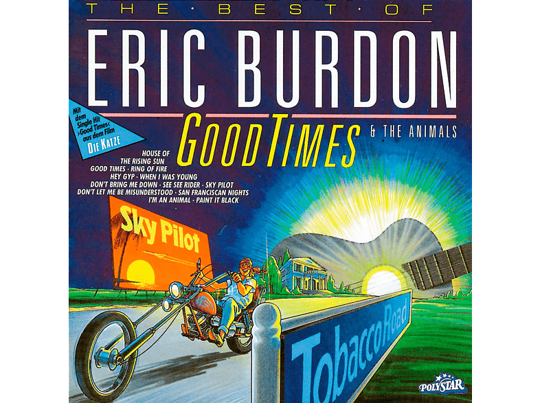 VARIOUS, Eric Burdon And The Animals - GOOD TIMES - BEST OF [CD]