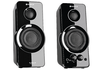 Altavoces para PC - Woxter Big Bass 95, 20W, 2 vías, entrada auxiliar