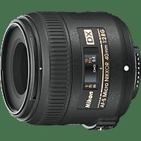 NIKON AF-S 40 mm f/2.8 AF-S, DX (Objektiv für Nikon F-Mount, Schwarz)