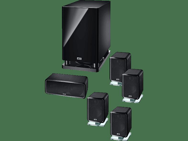 HECO Ambient 5.1 Lautsprechersystem (5.1 Kanal, Schwarz)