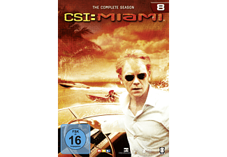 CSI: Miami - Staffel 8 (komplett) - (DVD)