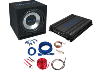 CRUNCH CBP 1000 Car-HiFi-Set Basspaket 4-Kanal Soundsystem