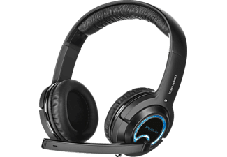 SPEEDLINK XANTHOS Stereo Console Gaming Headset, Over-ear Headset Schwarz