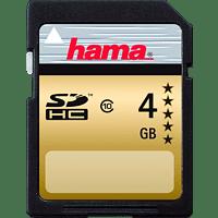 HAMA 104365, SDHC Speicherkarte, 4 GB, 22 MB/s