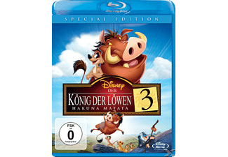 KÖNIG DER LÖWEN 3 HAKUNA MATATA [Blu-ray]