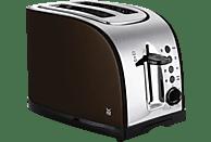 WMF 04.1401.0081 Terra  Toaster Edelstahl/Metallic-Gold-Braun (980 Watt, Schlitze: 2)