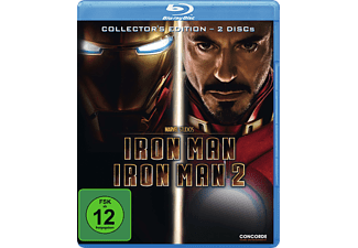 Iron Man + Iron Man 2 - Collector's Edition (Softbox) Blu-ray