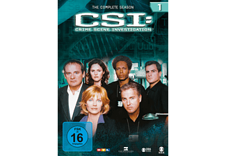 CSI: Crime Scene Investigation - Die komplette Staffel 1 [DVD]