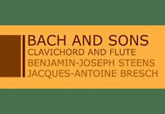 STEENS,B.-J. & BRESCH,J.-A. - Clavichord And Flute  - (CD)