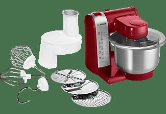 BOSCH MUM48R1 Küchenmaschine Rot (Rührschüsselkapazität: 3,9 Liter, 600 Watt)