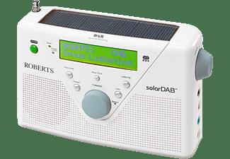 ROBERTS solarDAB 2 Digitalradio, Digital, Weiß