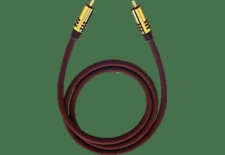 OEHLBACH NF Sub 500 Subwoofer Cinch-Kabel 5 m Subwooferkabel, Schwarz
