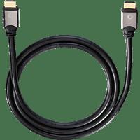 OEHLBACH Black Magic 220 High-Speed-HDMI® Kabel mit Ethernet 2200 mm HDMI Kabel