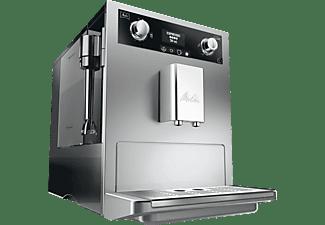 MELITTA E 965-101 Caffeo Gourmet silber-schwarz Kaffeevollautomat Silber