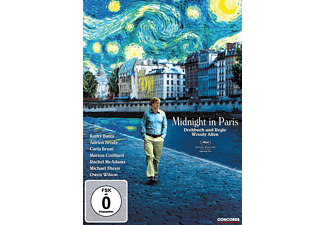 Midnight in Paris DVD