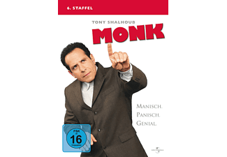 Monk - Staffel 6 DVD