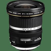 CANON EF-S 10-22mm USM 10 mm-22 mm f/3.5-4.5 USM, EF-S (Objektiv für Canon EF-S-Mount, Schwarz)