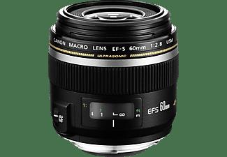 CANON EF-S F/2,8  60mm MAKRO USM 0284B007 - 60 mm f/2.8 EF-S, USM (Objektiv für Canon EF-S-Mount, Schwarz)