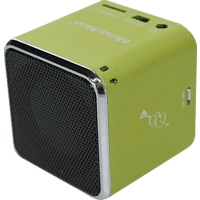 TECHNAXX Mini Musicman - Soundstation, Dockingstation, Grün