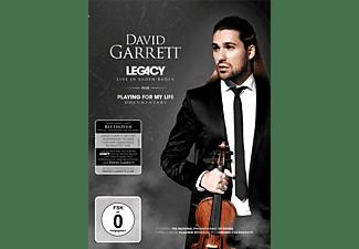 David Garrett - LEGACY-LIVE IN BADEN BADEN (LTD.DELUXE EDT.)  - (DVD)