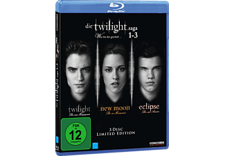 Die Twilight Saga 1-3 Blu-ray