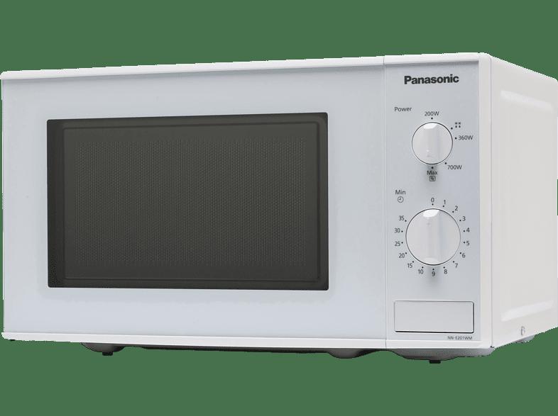 PANASONIC NN-E201W Mikrowelle (800 Watt)