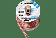 OEHLBACH Speaker Wire SP-15 2000 Lautsprecherkabel 2 x 1,5 qmm, Mini Spule 20 m Lautsprecherkabel