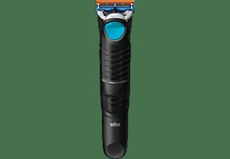 Afeitadora corporal - Braun Cruzer 5 Body Recargable, Funcionamiento bajo la ducha, Varios