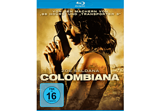 Colombiana Blu-ray