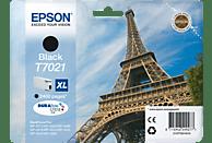 EPSON Original Tintenpatrone Eiffelturm Schwarz (C13T70214010)