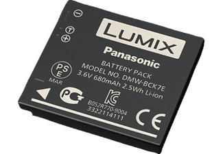 PANASONIC DMW-BCK7-E Akku, Li-Ion, 3.6 Volt, 680 mAh