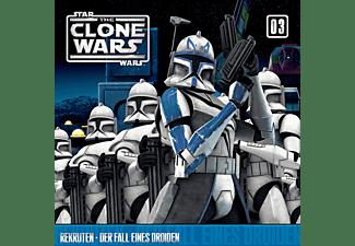 Star Wars - The Clone Wars 03: Rekruten / Der Fall eines Droiden  - (CD)