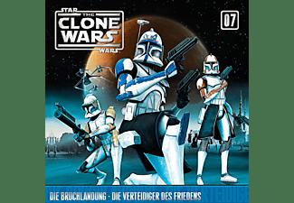 Star Wars - The Clone Wars 07: Die Bruchlandung / Die Verteidiger des Friedens  - (CD)