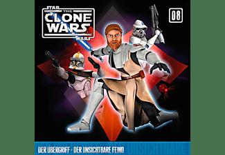 Star Wars - The Clone Wars 08: Der Übergriff / Der unsichtbare Feind  - (CD)