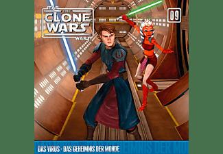 Star Wars - The Clone Wars 09: Das Virus / Das Geheimnis der Monde  - (CD)
