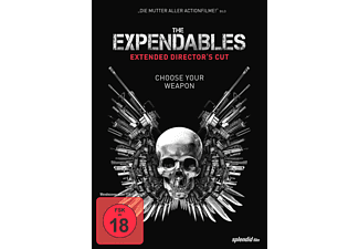 The Expendables Extended Version DVD