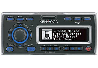 Autorradio intemperie - Kenwood KMR-700U, USB, Compatible iPod/iPhone
