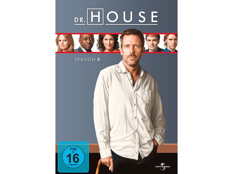 Dr. House - Staffel 5 [DVD]