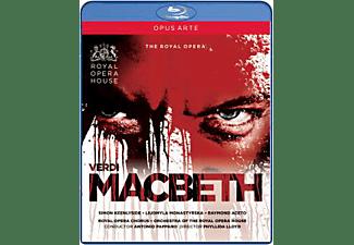 Pappano/Keenlyside/Monastyrska - Macbeth  - (Blu-ray)