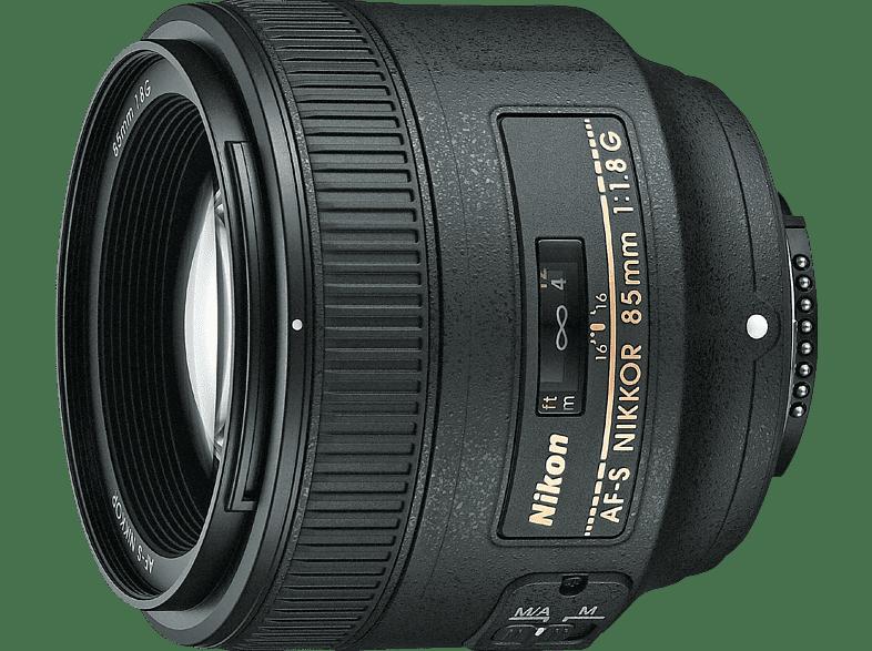 NIKON AF-S NIKKOR 85mm 1:1.8G  für Nikon F-Mount - 85 mm, f/1.8