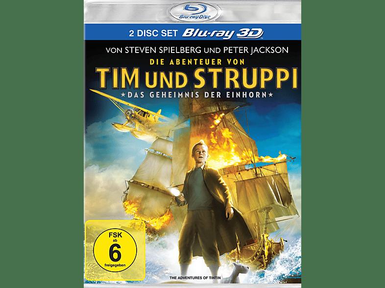 Die Abenteuer von Tim und Struppi - Das Geheimnis der Einhorn 3D [3D Blu-ray]