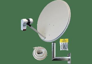 ALLVISION SAH-S 160 Twin Set Satellitenschüssel (60 cm, Digitales Twin-LNB)