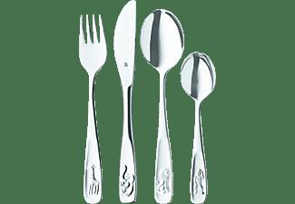 WMF 12.8005.6040 Tiere Kinderbesteck-Set Silber