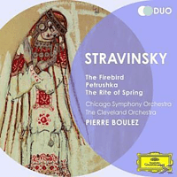 Pierre Boulez, The Cleveland Orchestra, Chicago Symphony Orchestra - Der Feuervogel/Petruschka/The Rite Of Spring - [CD]